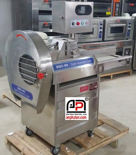 máy cắt rau củ băng tải SQC-80