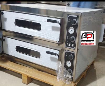 Lò nướng bánh điện 2 tầng 4 khay 13.8KW (TRAYS44)