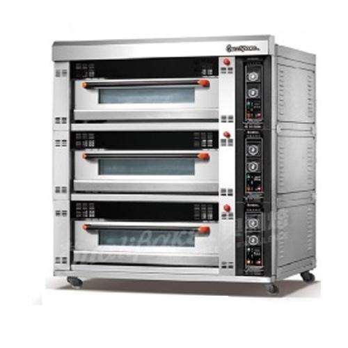 Lò nướng bánh 3 tầng 6 khay (điện) (khay 46*72) QD-06D