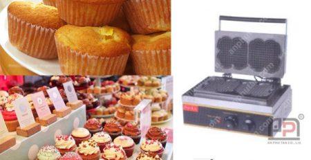 Tìm hiểu về máy làm bánh Muffin