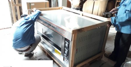Lò nướng bánh công nghiệp TPHCM dùng điện gas giá rẻ