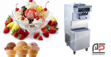 Máy làm kem cứng uy tín, giá rẻ giao tận nơi miễn phí