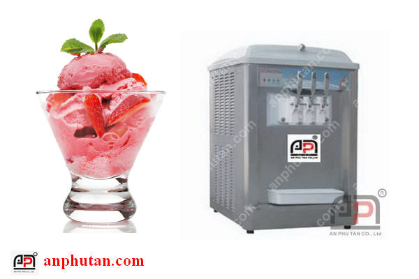 Máy làm kem tươi chính hãng, xài bền, giá rẻ, giao hàng tận nơi toàn quốc