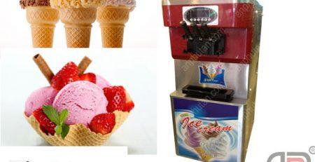 Giá máy làm kem 3 màu LH: 0904 927858 để được báo giá ngay