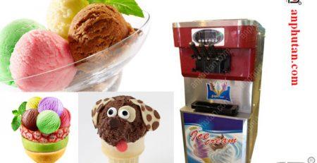 Máy làm kem 1 vòi 2 vòi 3 vòi giá rẻ tphcm giao hàng tận nơi
