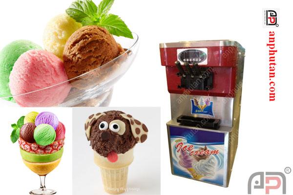 Máy làm kem 7 màu, nơi bán máy làm kem 7 màu giá rẻ tphcm