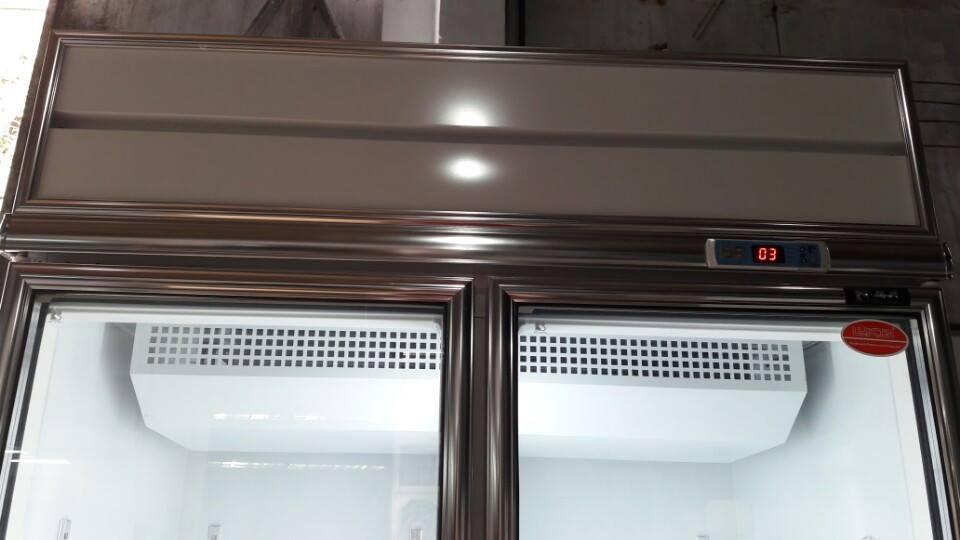 tủ mát 2 cánh kính đài loan 1000 lít