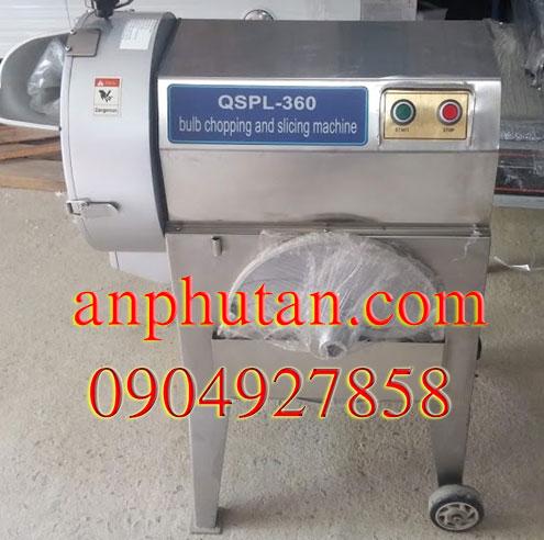 Máy cắt rau củ lát sợi QSPL-360