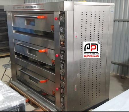 Lò nướng điện 3 tầng 9 khay FKB-3LB