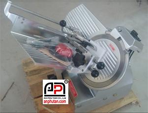 Máy cắt thịt chín, thịt se lạnh tự động SL-300B